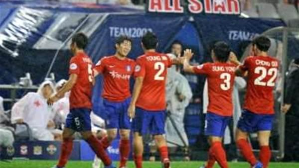 Korea close in on Brazil spot