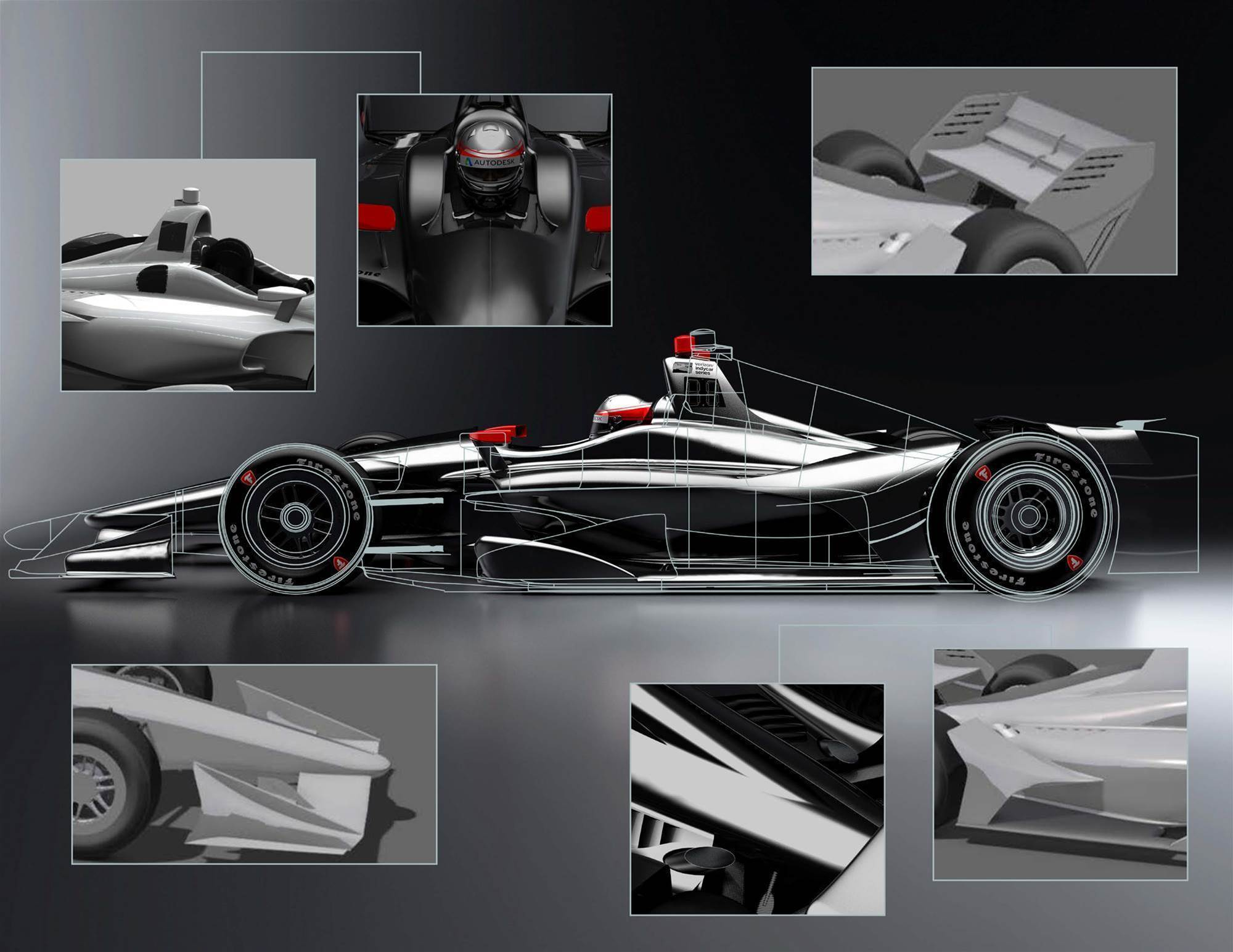 New Indycar aero package unveiled