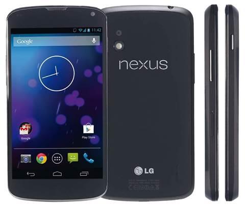First look: Google Nexus 4