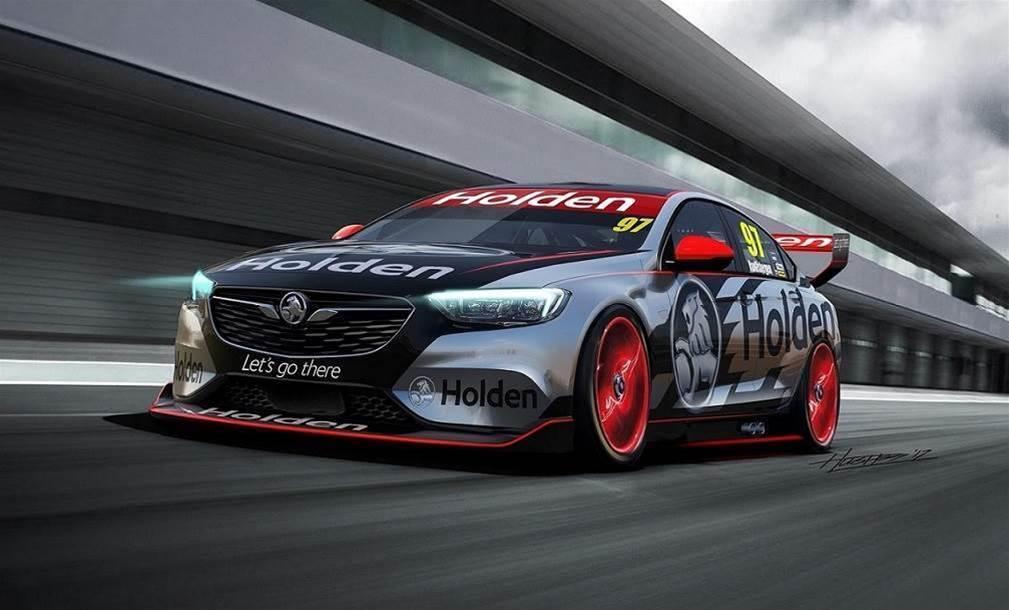 Holden reveals 2018 Supercar