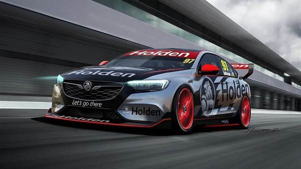 Holden reveals 2018 Supercar