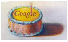 Google celebrates its 13th birthday