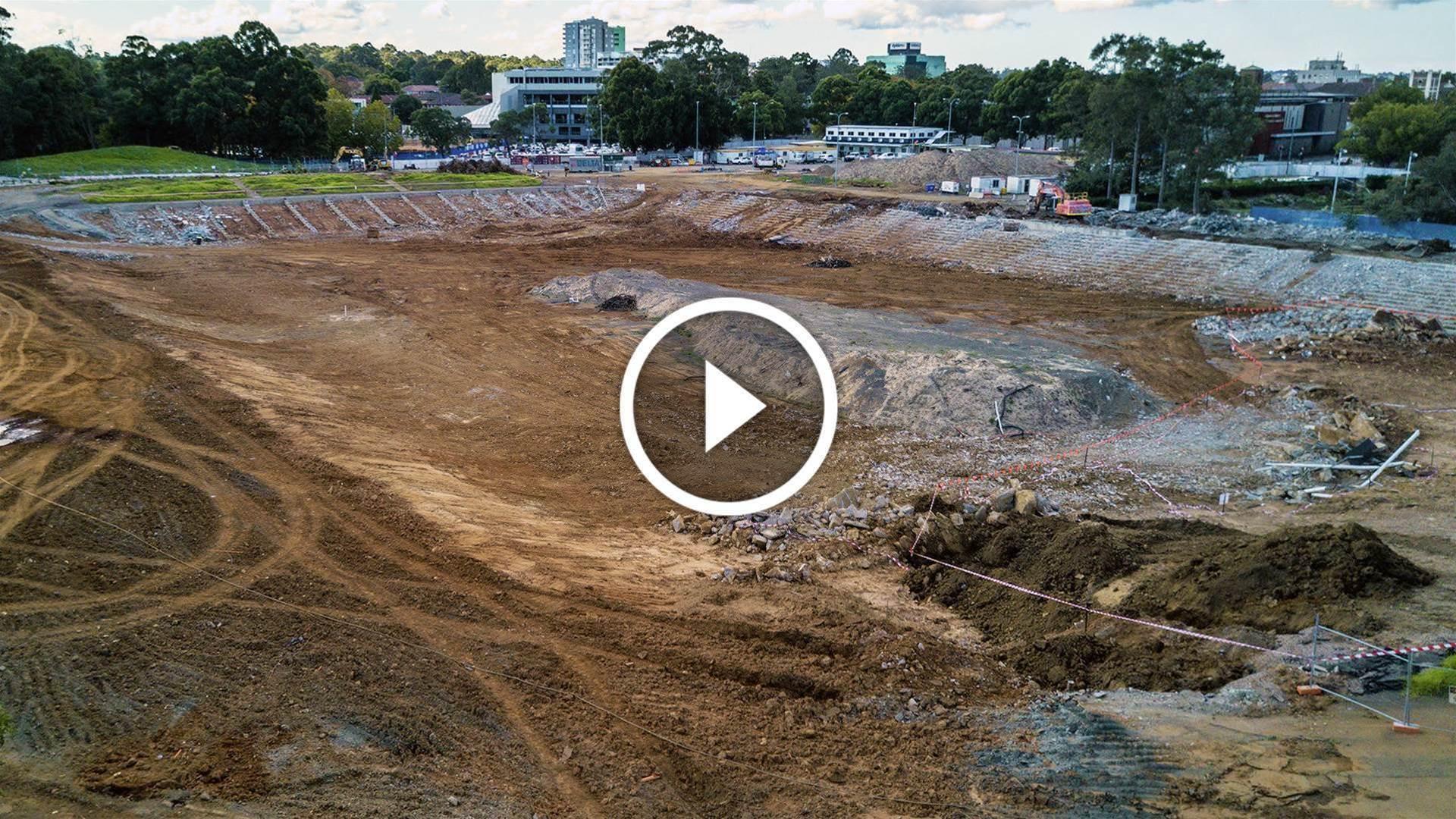 Construction kicks off on Western Sydney Stadium