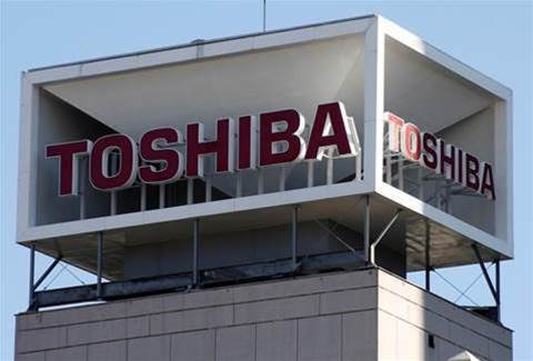 Joint bid possibility for Toshiba chip unit