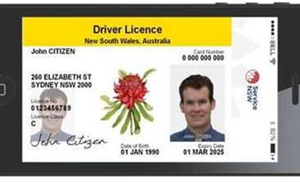NSW reveals trial site for Australia's first digital driver licence