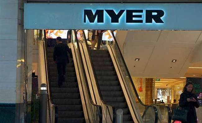 Tech the silver lining in Myer's tough six months