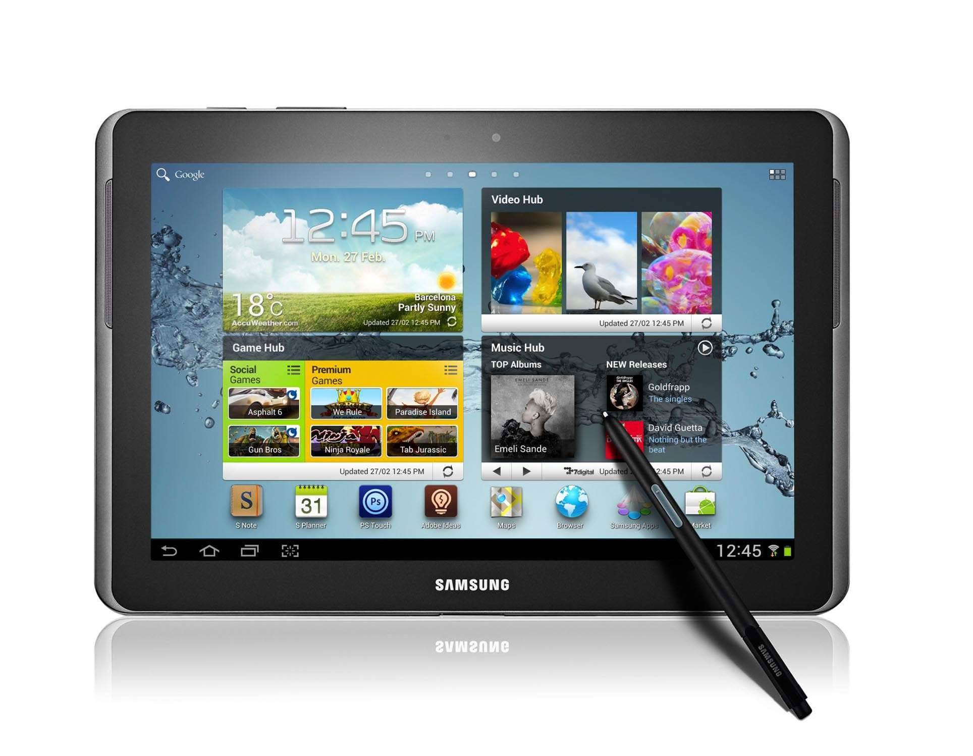 Samsung announces 10.1in Galaxy Note