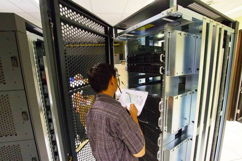 Photos: UWA installs Fornax supercomputer