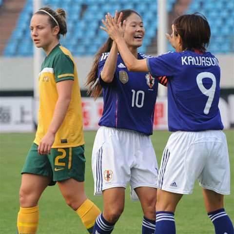 Matildas Go Down To Japan