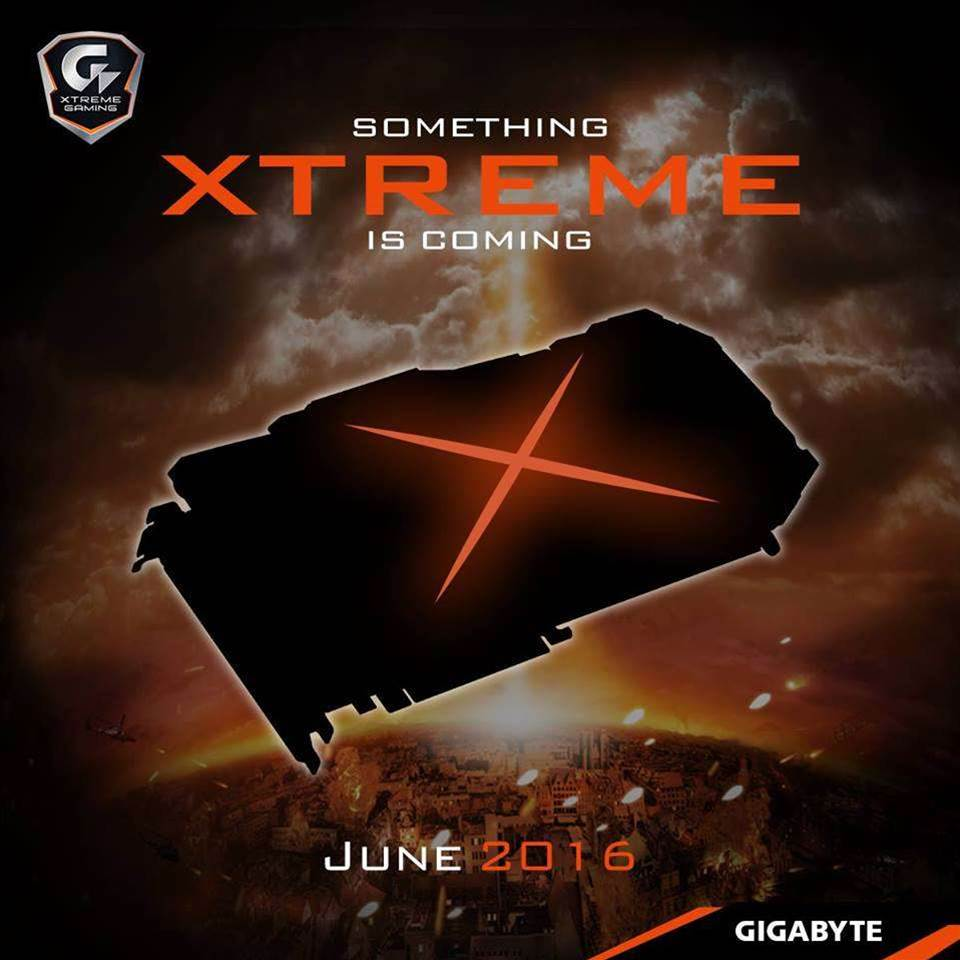 Gigabyte starts teasing its Xtreme edition of the GTX 1080
