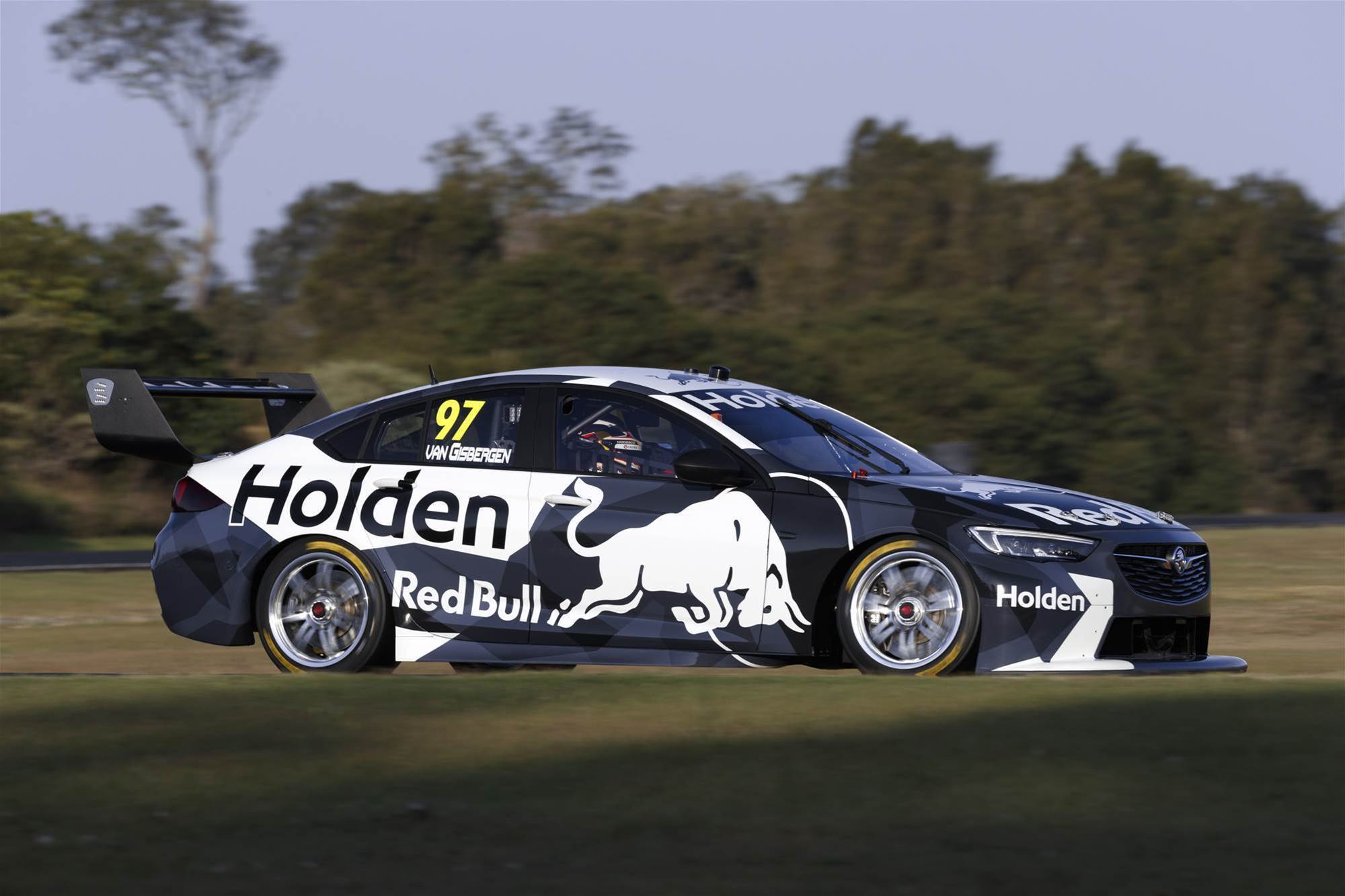 First laps for New Holden Supercar