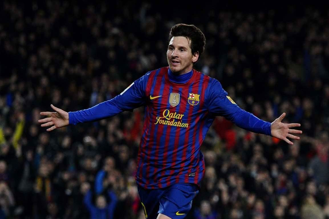 Messi Hits Four As Barca Cruise