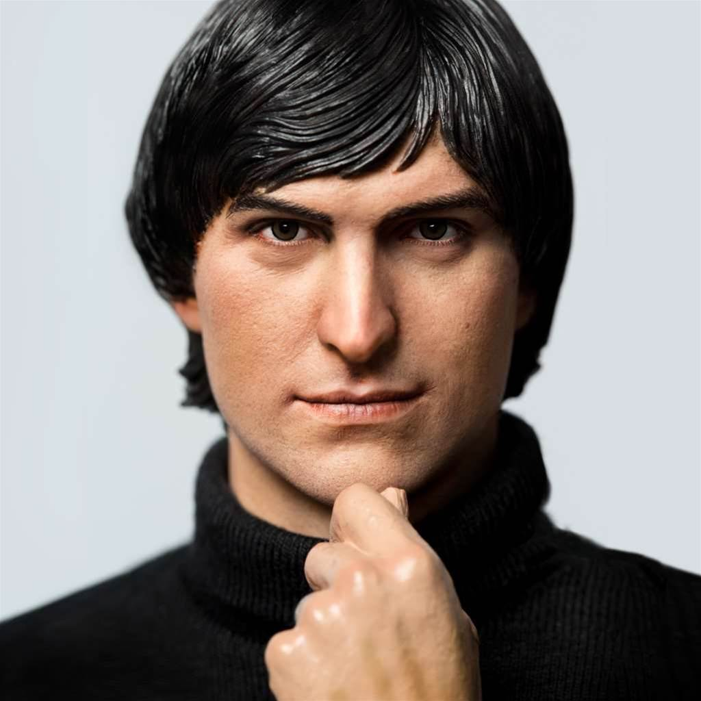 Look upon my Young Steve Jobs toy, ye mighty and despair