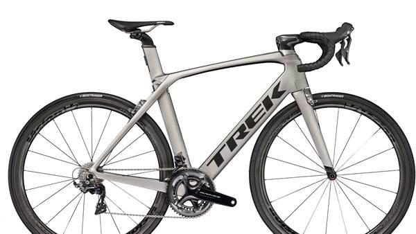 The insanely fast Trek Madone 9.5 women's road bike