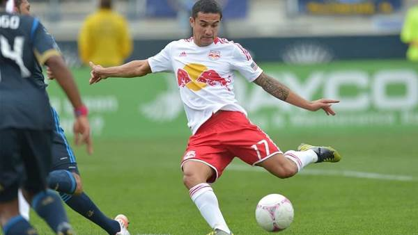 Cahill's praise for rookie Red Bulls coach