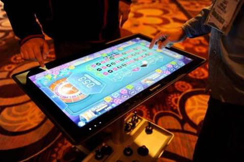 CES 2013: Lenovo bets on Win8 with new ultrabooks, 'Table PC'