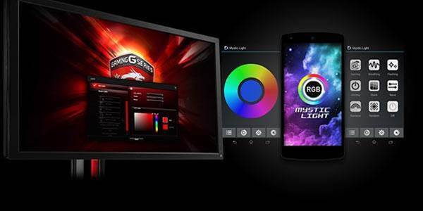 MSI doubles down on RGB lighting with Mystic Light Sync