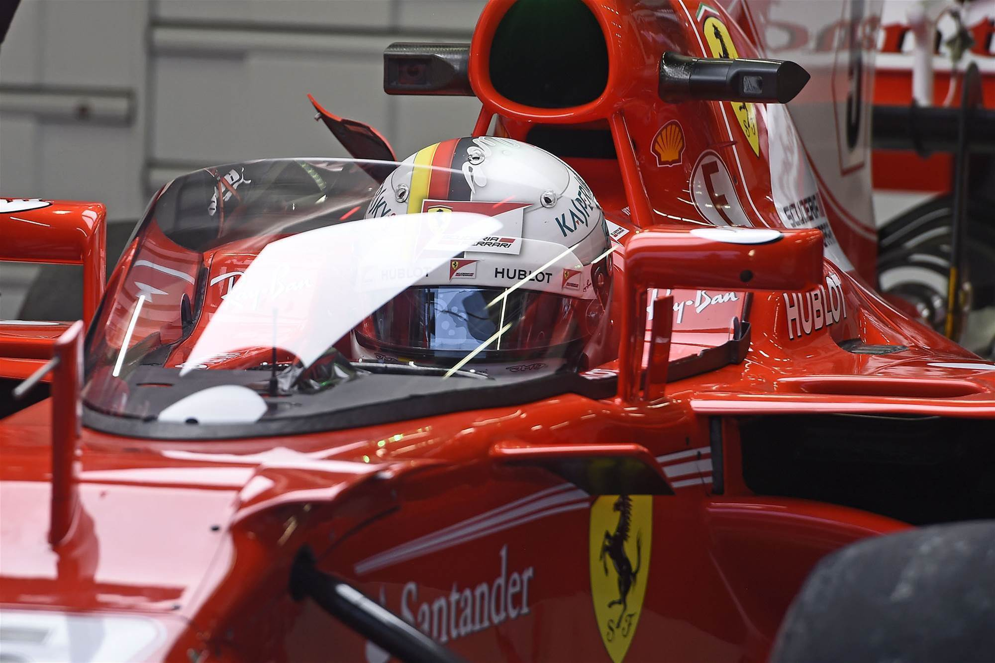 F1 hopes cockpit shield has appeal