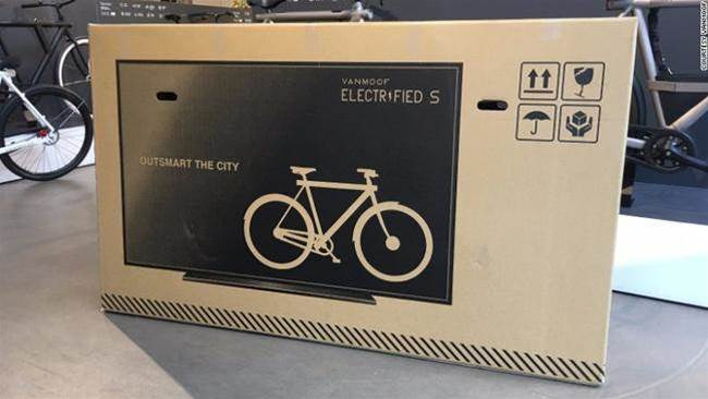 When this bike company put a TV on its box, shipping damages went way down
