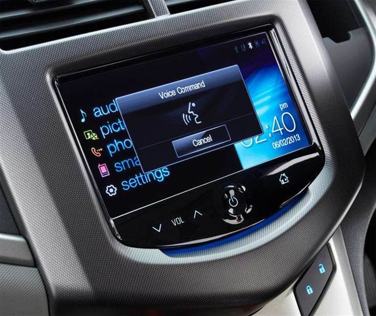 Apple's Siri voice technology debuts on the Holden Barina CDX