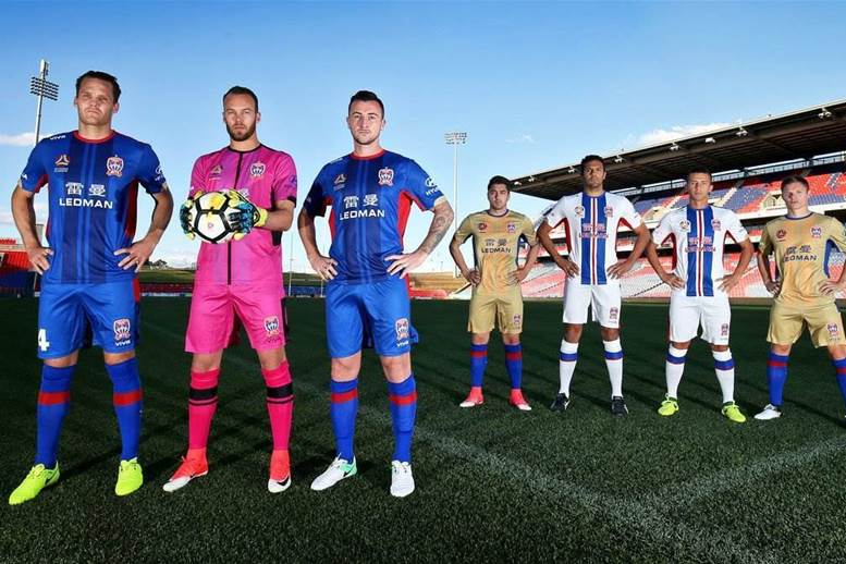 Newcastle Jets release new kits