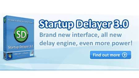 Startup Delayer 3 helps Windows users manage startup items efficiently