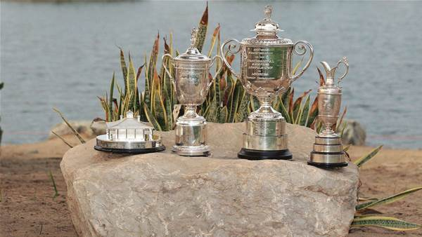 What is golf's most coveted major title?