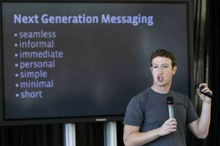 Facebook launches messaging tool