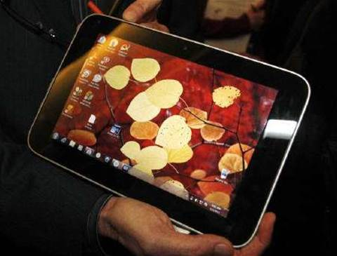 CES: Lenovo sets expectations for tablet market
