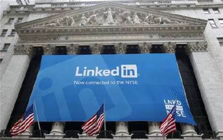 LinkedIn share price doubles in NYSE debut