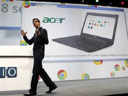 Google says Chrome to power only notebooks