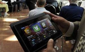PlayBook tablet approved for US government use