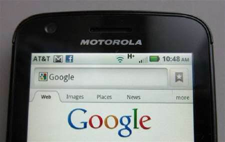 Google seeks EU approval for Motorola Mobility deal
