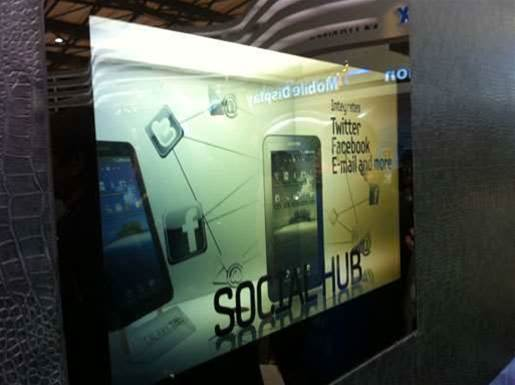 Samsung unveils green-friendly 'see-through' LCDs
