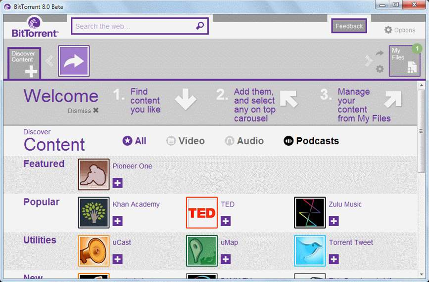 Project Chrysalis beta brings personal content channels and more to BitTorrent 8
