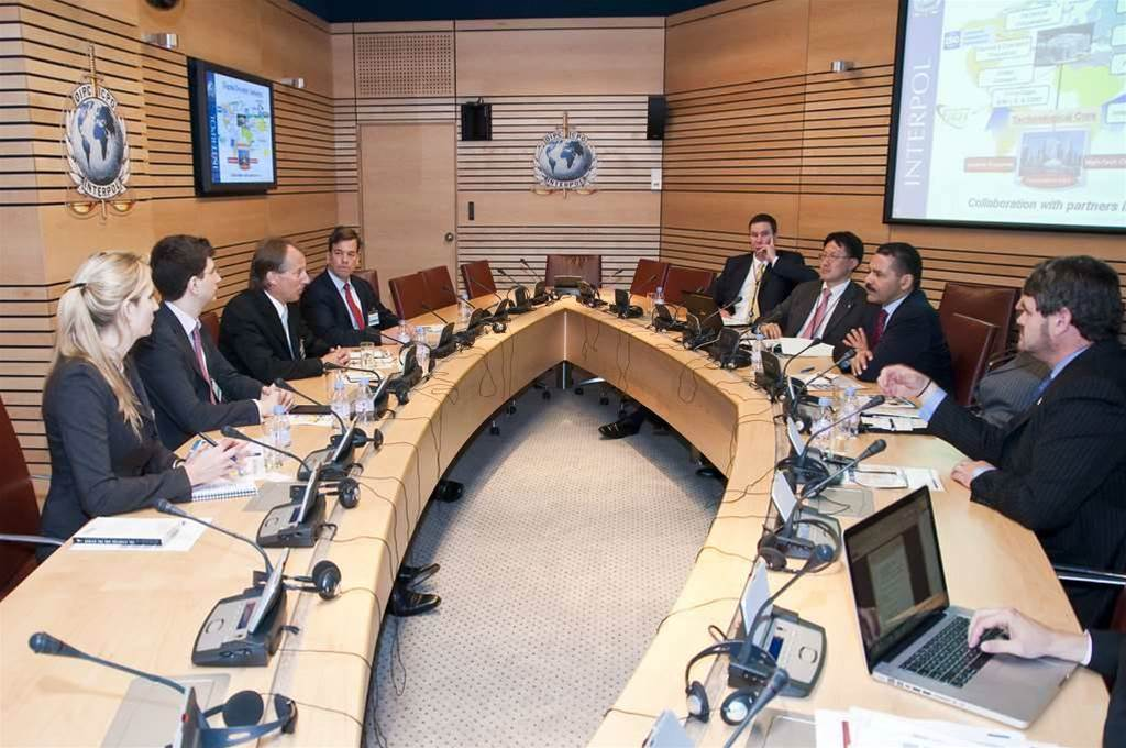 Interpol flags interest in internet regulation