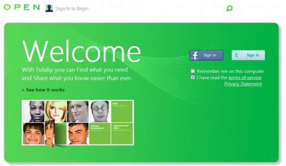 Microsoft leaks social app plans