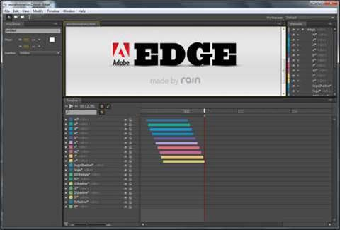 Adobe Edge Preview – a future Flash replacement?