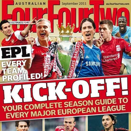 Buy <i>FourFourTwo</i> one-by-one!