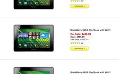 US retailers slash RIM PlayBook prices