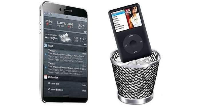 Rumour: Apple to scrap iPod range?