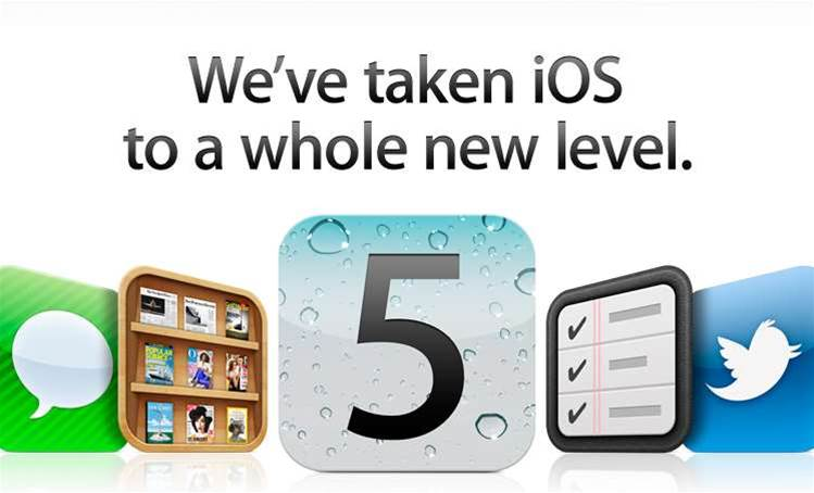 iOS 5 for iPhone and iPad released today
