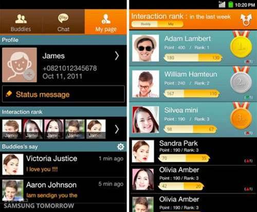 Samsung releases ChatOn IM service