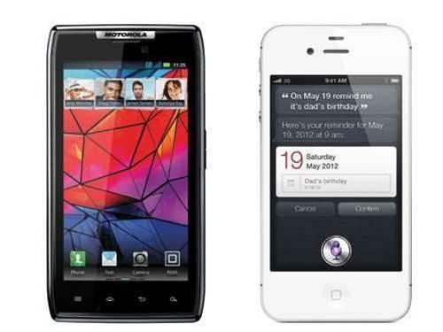 Which smartphone should you buy? Motorola RAZR vs iPhone 4S
