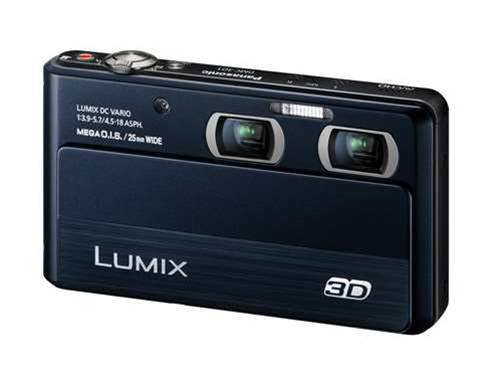 Panasonic launches world's smallest 3D camera