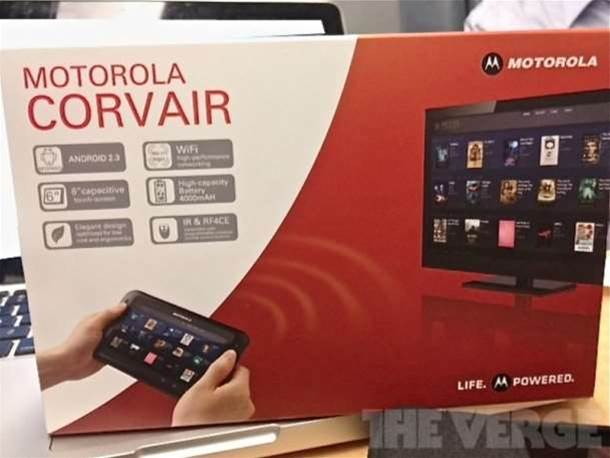 Is Motorola working on a tablet TV controller?