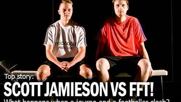 Scott Jamieson versus FourFourTwo