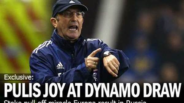 Pulis Delighted With Dynamo Draw