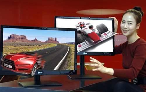 LG announces glasses-free 3D monitor