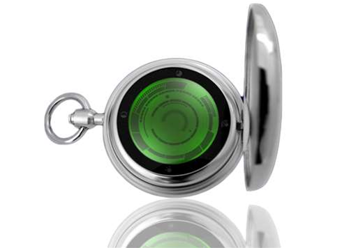 Retro chic: Tokyoflash unveils touch-screen pocket watch